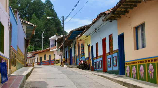 Guatape, Colombia (best countries to teach English)