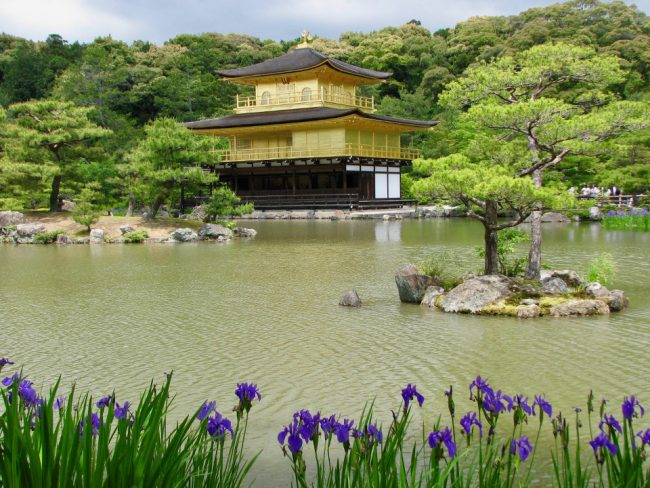 Golden Temple, Kyoto, Japan (best countries to teach English)
