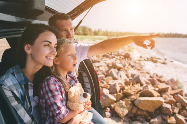 Road travel gives you quality time (road travel in the US)