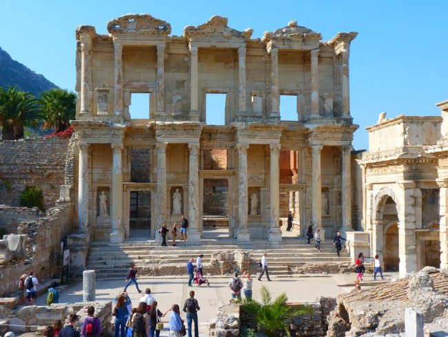 Celsus Library, Ephesus (places to visit in Turkey)