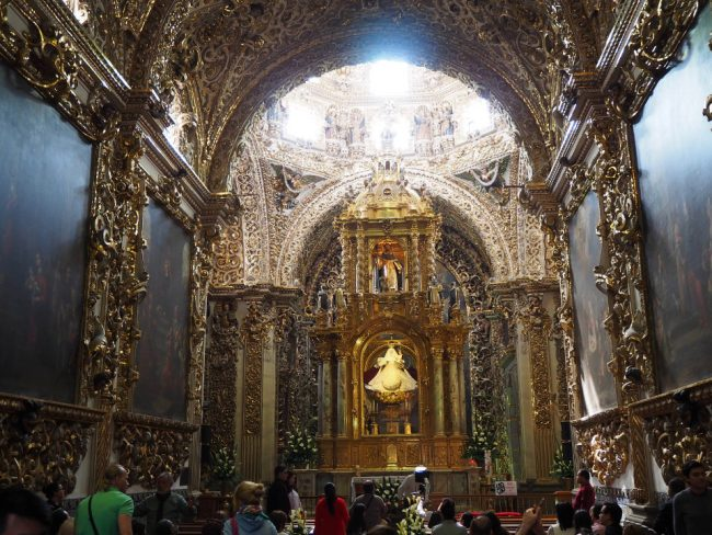 Capilla del Rosario, Puebla (things to do in Puebla)