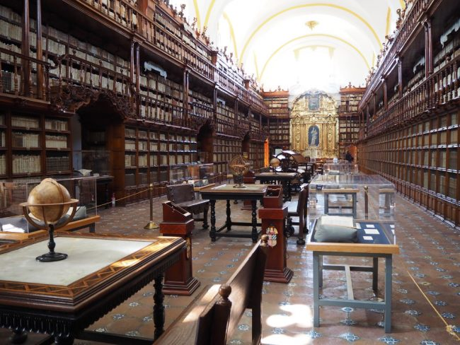 Biblioteca Palofoxiana (things to do in Puebla)