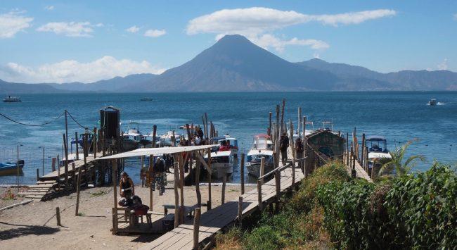 Boat dock, Panajachel (visit Lake Atitlan)