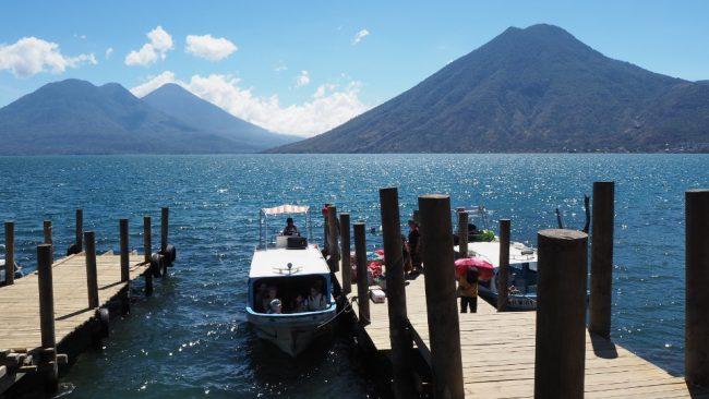 Boat docks, San Marcos (visit Lake Atitlan)