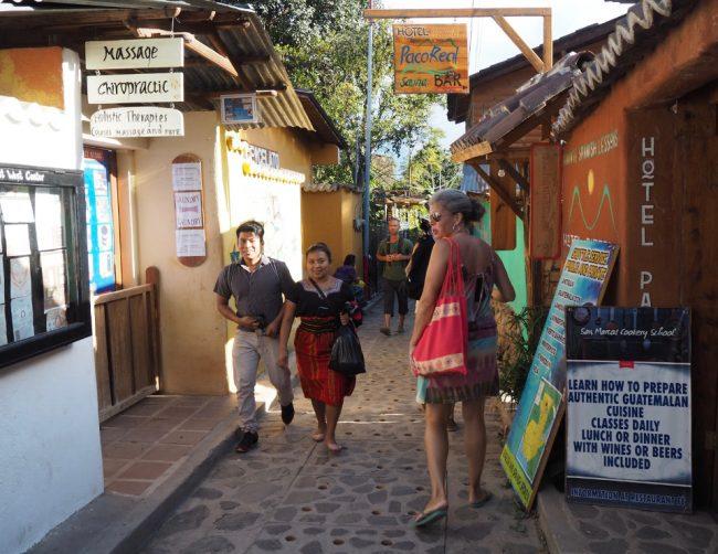 Tourist area, San Marcos (visit Lake Atitlan)