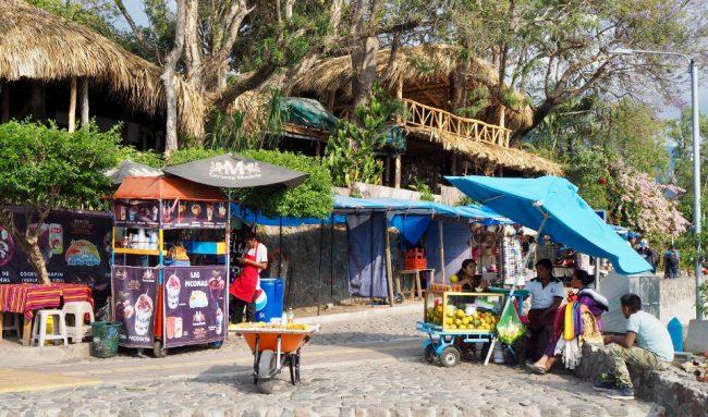 Waterfront promenade, Panajachel (visit Lake Atitlan)