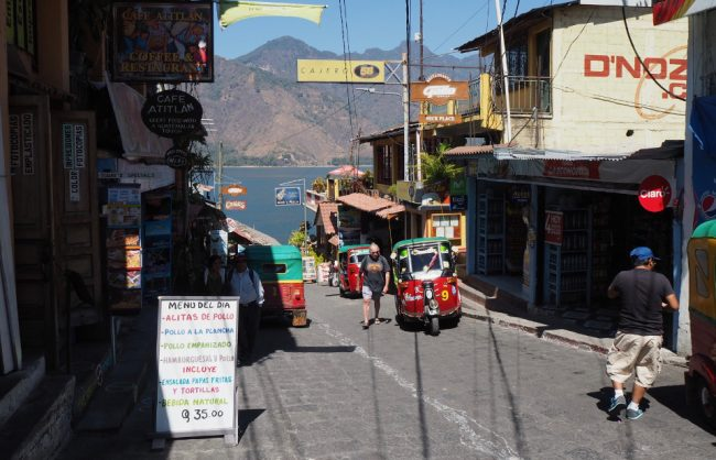 Tuk-tuks in San Pedro (visit Lake Atitlan )
