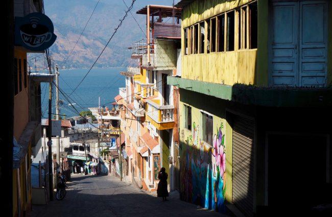 San Pedro La Laguna (visit Lake Atitlan )