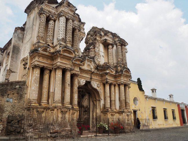 Ruined church in Antigua Guatemala