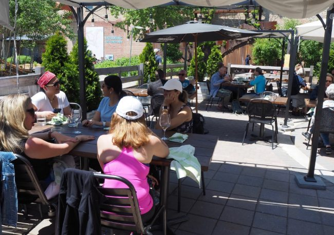 Break time at Cafe Belong, Evergreen Brick Works