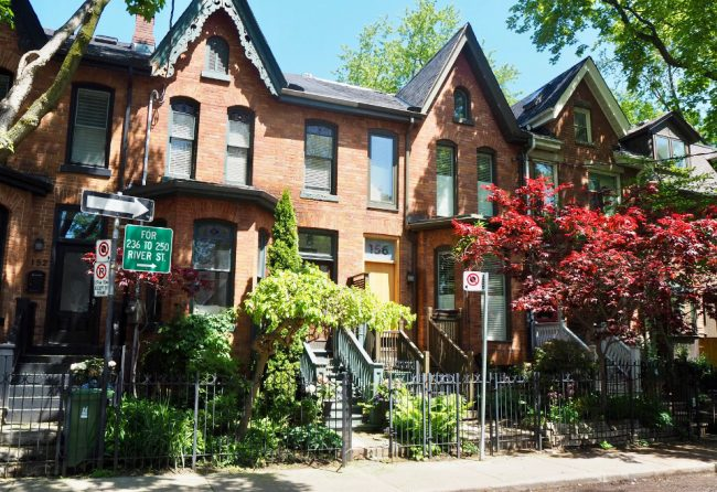 Typical Cabbagetown architecture