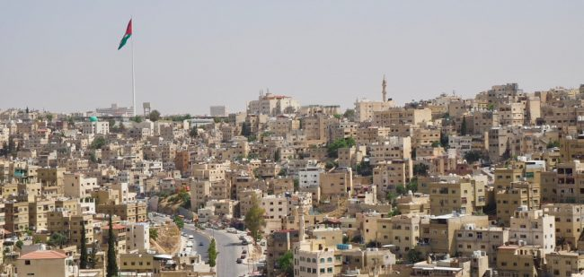 View of Amman from the Citadel (what to do in Amman)