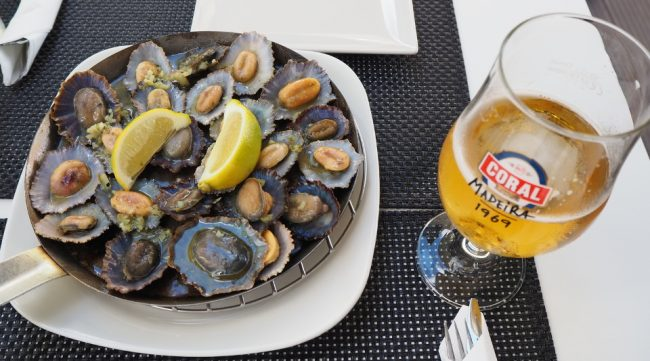 Limpets, a local Madeira shellfish