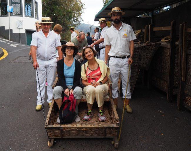 Toboggan ride from Monte in Madeira