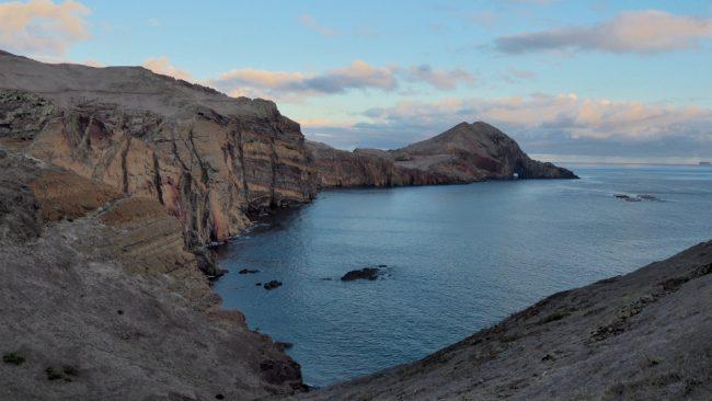 View from Vereda da Ponta de São Lourenço trail