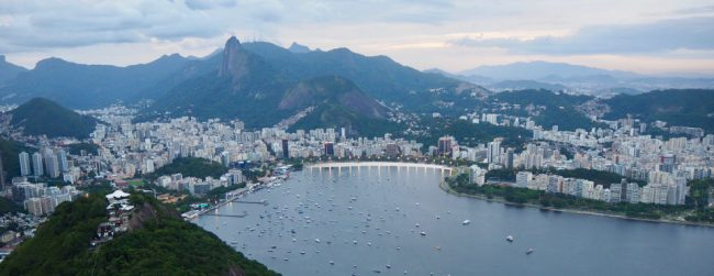 View from SugarLoaf (first time in Rio)