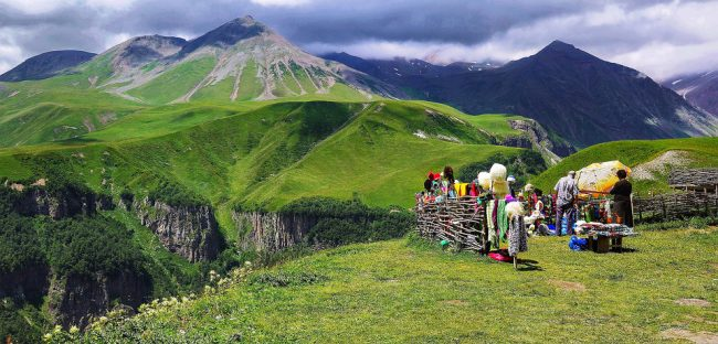 Georgia Caucasus Mountains (travel bucket list)