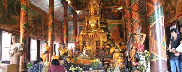 Inside Wat Phnom