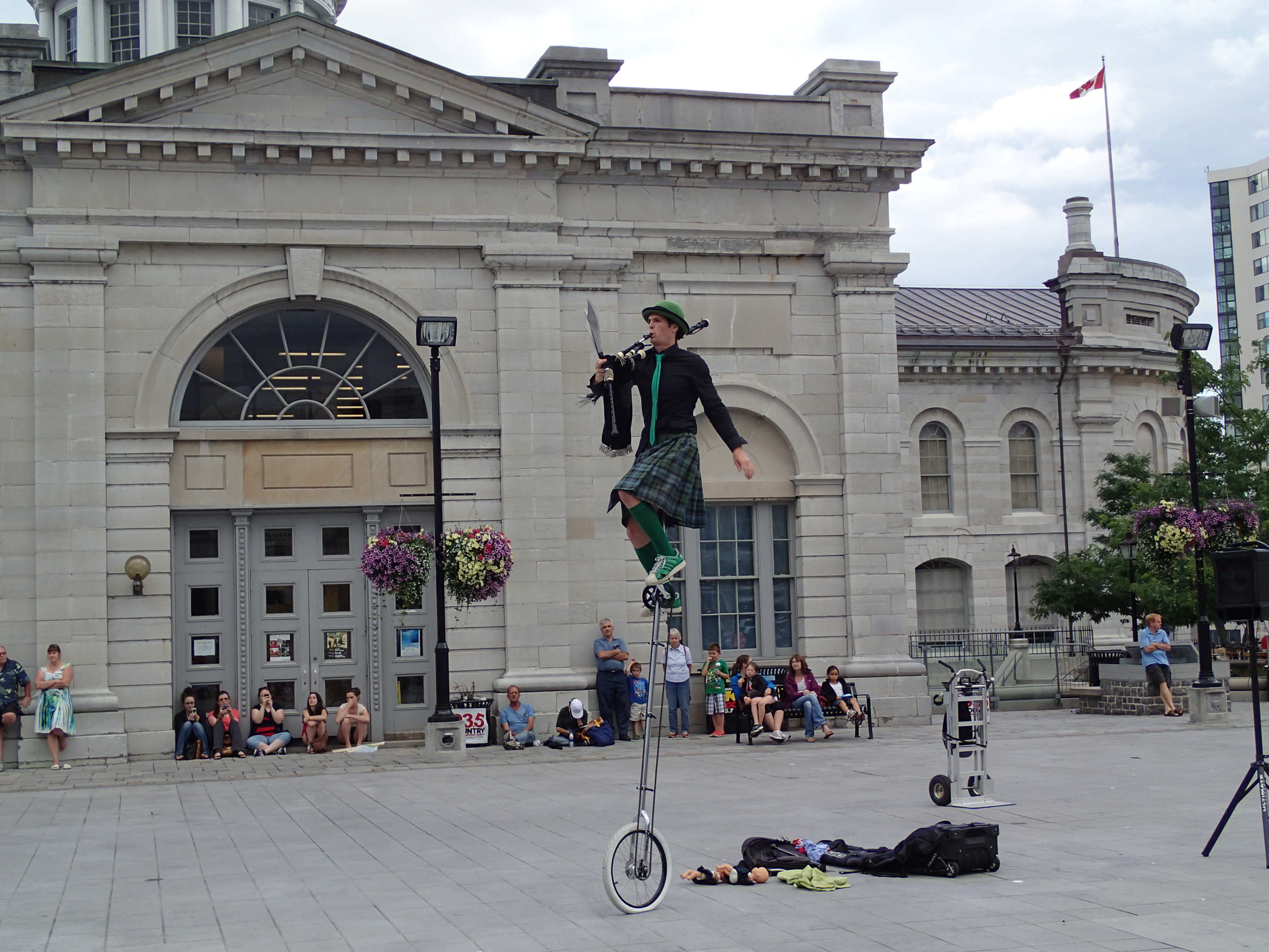 Busker in Kingston