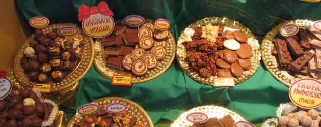 Chocolate offerings, Bariloche