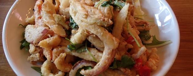 Calamari dish at Circa 33