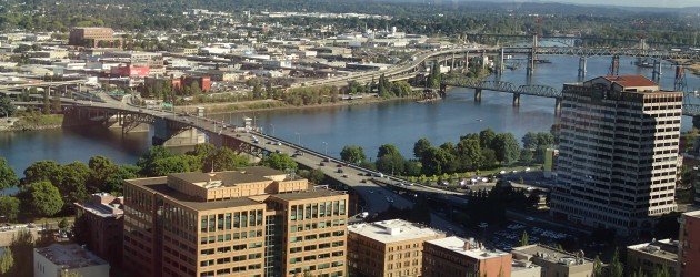 Portland from above