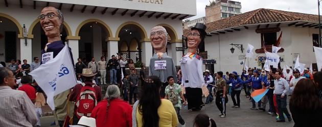 Electoral parade, Cuenca