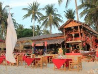 MoonWalk, one of the largest restaurants along the beach