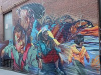 Mural in Chinatown