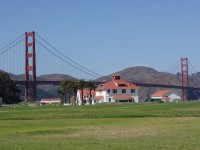 Golden Gate Bridge from the bike path