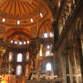 Inside Aya Sofya (Sultanahmet, Istanbul)