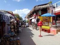 Tacky Hidalgo Street (Isla Mujeres)