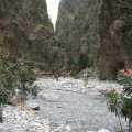 Samaria Gorge, Crete (Greece)