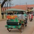 Moto-remorque in Siem Reap, Cambodia
