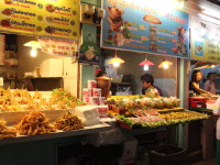 I ate at this night market several times a week while in Chiang Rai (Thailand)