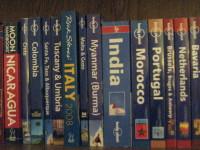 My travel guidebooks