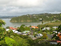 Paihia, the main tourist town in the Bay of Islands