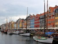 The colourful buildings of Nyhavn, Copenhagen