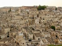 View of Matera's Sassi from the Cathedral