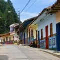 Colourful Guatape, an easy day trip from Medellin, Colombia (best countries to teach English)