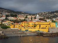 East Funchal with ominous clouds
