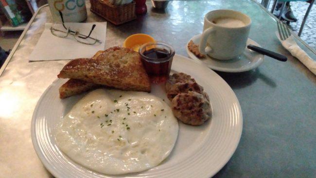 Завтрак в кафе Gringo, Рио-де-Жанейро