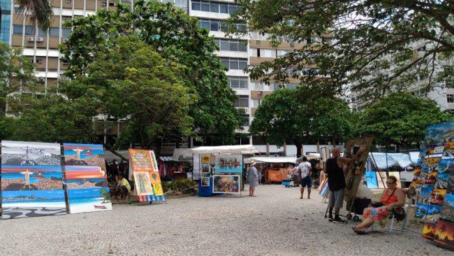 Хиппи Маркет, Ипанема, Рио-де-Жанейро (впервые в Рио)