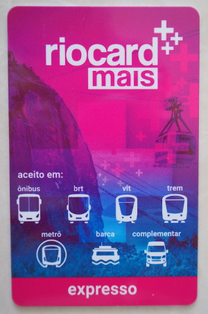 RioCard для метро и VLT